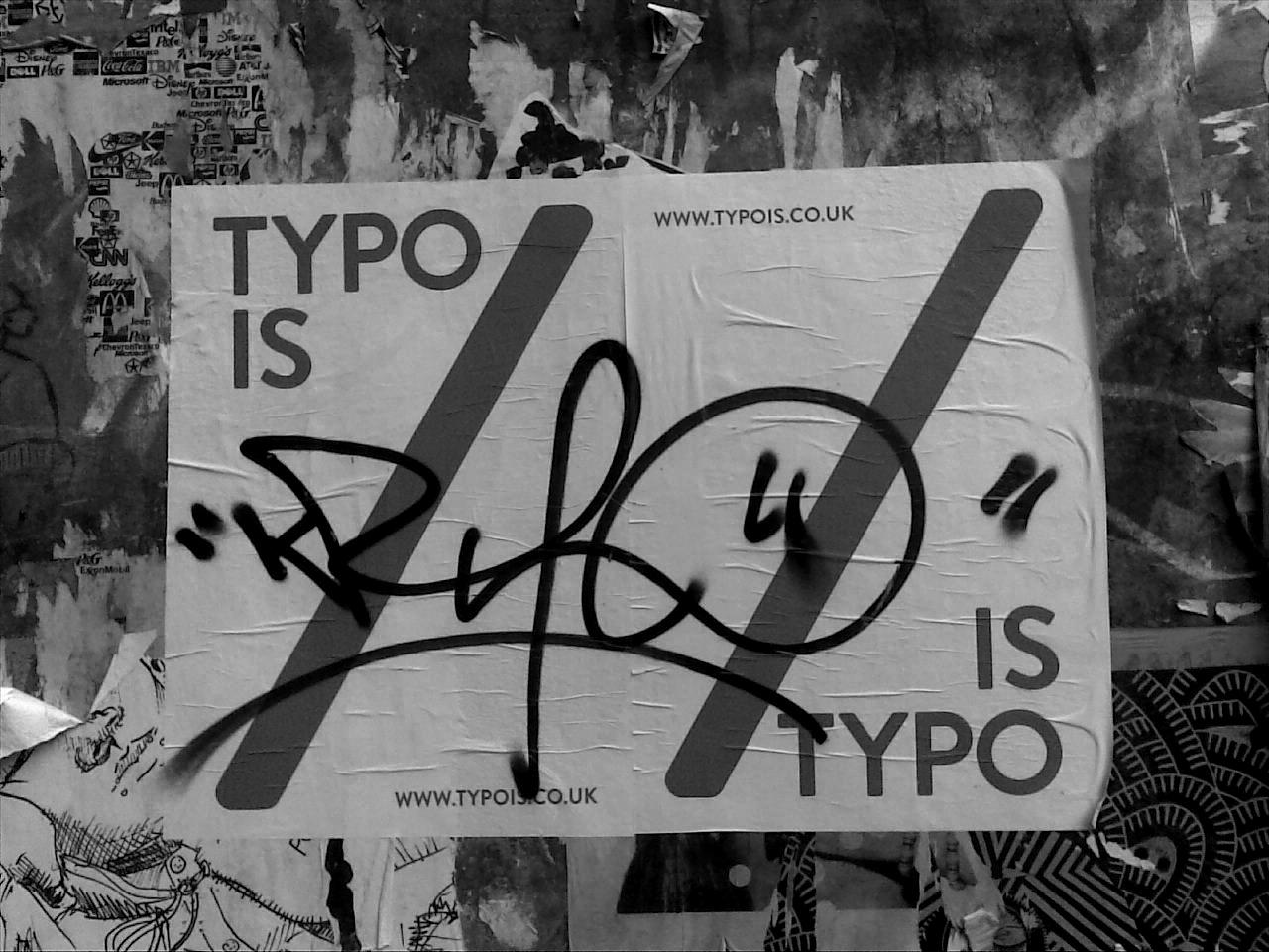 Typo:
